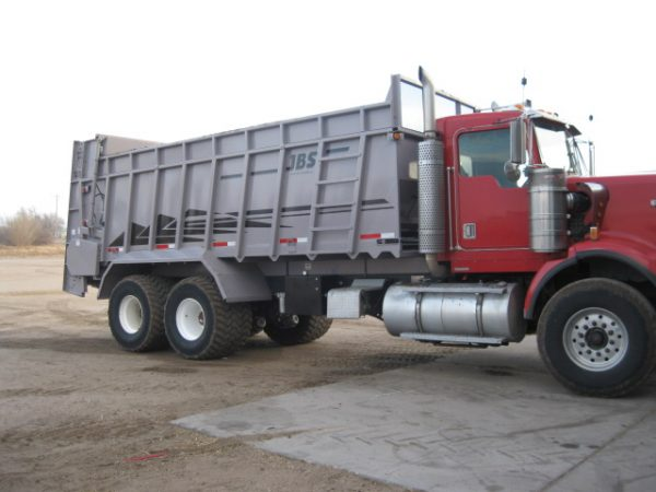 JBS Truck Mount Manure Spreader 1