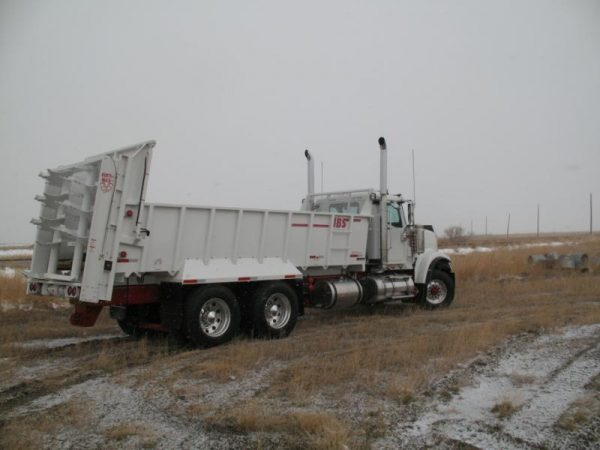 JBS Truck Mount Manure Spreader 3