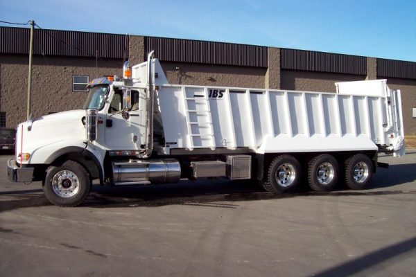 JBS Truck Mount Manure Spreader 4