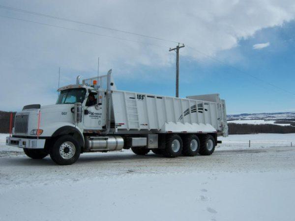 JBS Truck Mount Manure Spreader 5