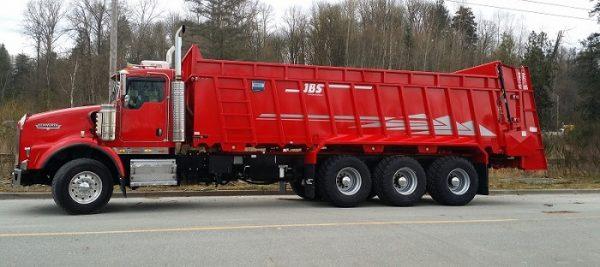 JBS Truck Mount Manure Spreader
