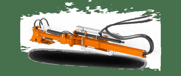 SaMASZ Fischer nosnik z wysuwem hydraulicznym
