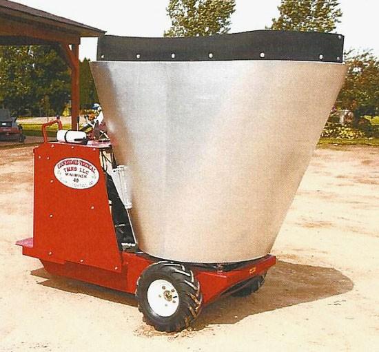 mixing tub feed carts